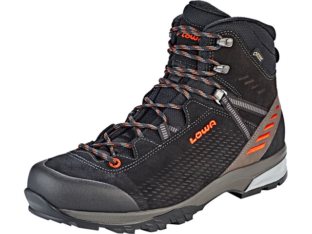 Lowa Arco GTX Chaussures Homme, black/flame